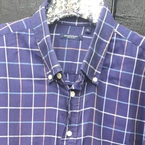 Men's Burberry super soft flannel shirt